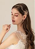 In Stock Dazzling Wedding Hair Ornaments With Glass Beadings